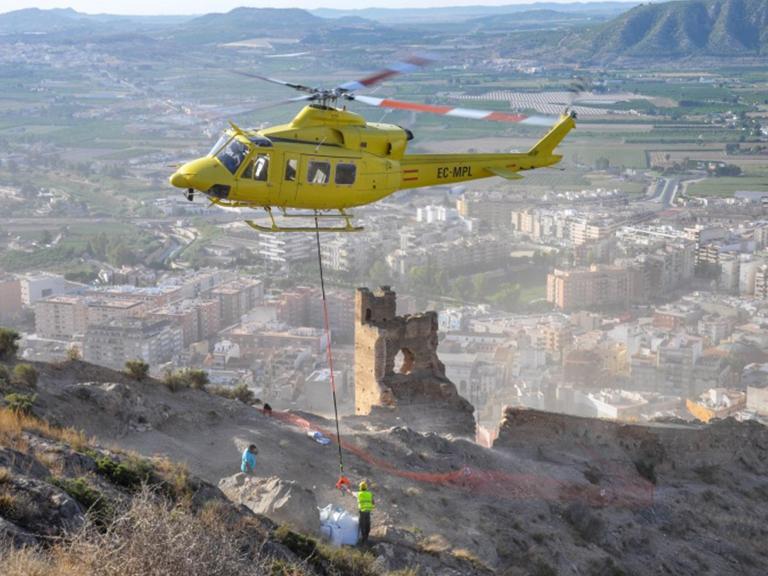El Ayuntamiento de Orihuela recibe una subvención de 40.000 euros para la recuperación de la torre de la muralla