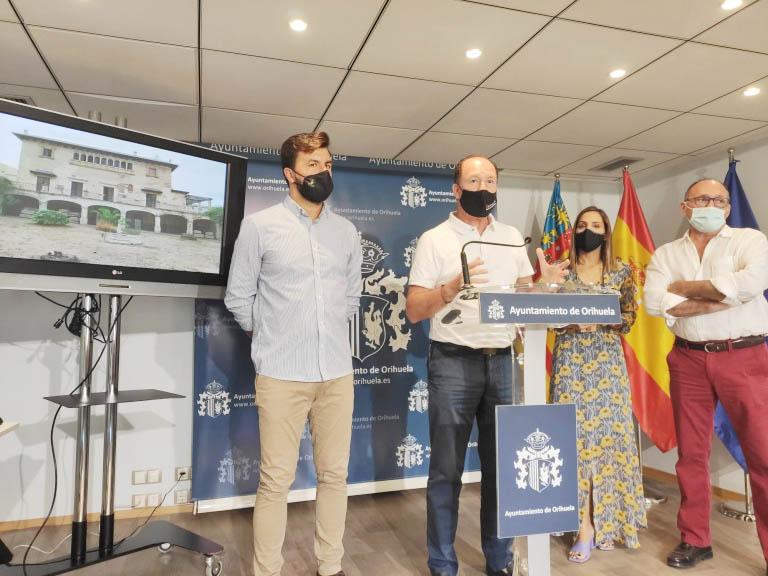 El Ayuntamiento de Orihuela obtiene la aprobación de Conselleria para sacar adelante el proyecto de rehabilitación del Palacio de Rubalcava