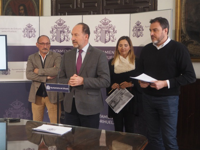 El Ayuntamiento de Orihuela invierte más de 5'5 millones de euros para ejecutar cerca de cuarenta proyectos en todo el término municipal