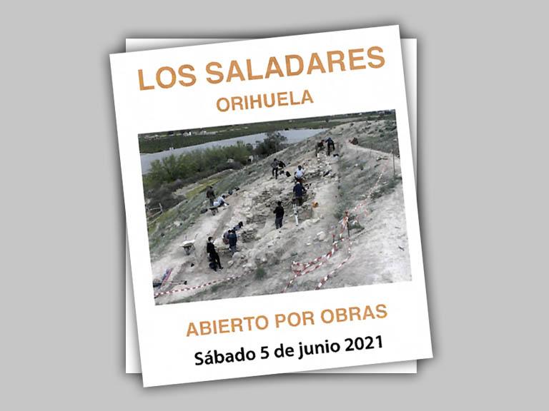 Abierto por obras. Ahora puedes visitar El Yacimiento Arqueológico de Los Saladares.